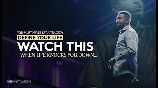 WHEN LIFE KNOCKS YOU DOWN... (One of the Best Inspirational Speeches by Inky Johnson)