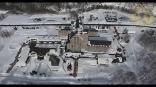 Aerial Drone Footage of The Kiroro, a Tribute Portfolio Hotel, Hokk...