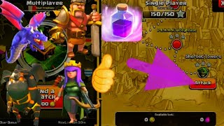 ALL AIR TROOPS,Rang,KING AND QUEEN VS GOBLIN MAP ||Clash of clans || LETEST 2018 || AA Aman Adhikari