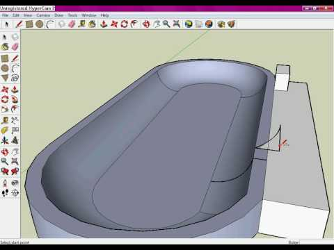 how to create terrain from contours in sketchup