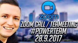 Verway Zoom Call 28.9. #Powerteam mit Simeon Wilhelm   Ilhan Dogan