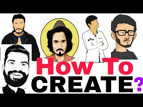 How To Make Cartoon Face In 2 Minutes | Like Other YouTubers | Easy Way