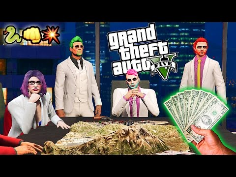 GTA 5 PC | More Finance & Felony AND Cunning Stunts DLC!!! GTA V Online Funny Moments - Dual Cam