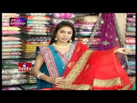 Designer 2 in 1 Ghagras | Chennai Shopping Mall - Patny Center | Sogasu Chudatharama | Awani | HMTV