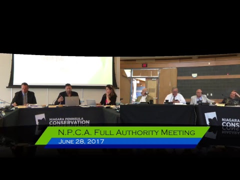 NPCA Full Authority Meeting - June 28, 2017