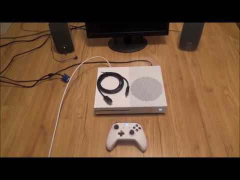 How to Connect the Xbox One S to a VGA Computer Monitor or VGA TV