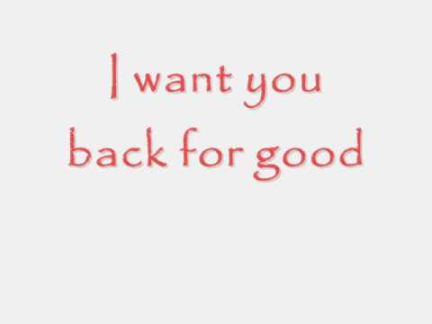 Take That - Back For Good - Lyrics