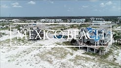 Mexico Beach Florida 1Year After Category 5 Hurricane Michael - Filmed With Drone