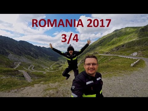 Romania motorcycle trip 2017 (3/4) Triumph Tiger 800XC and BMW 1200GS