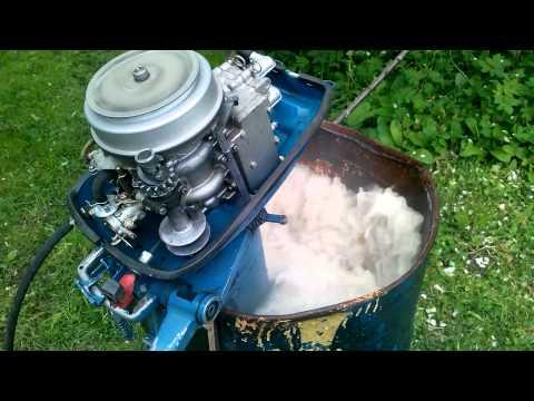 Ремонт электронного зажигания лодочного мотора Ветерок 8