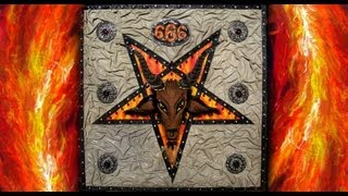 Baphomet Pentagram Satanic Star - Art of Sofia Metal Queen