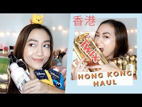 Hong Kong Haul 🇭🇰  (makeup, food, clothing)   darlindanes