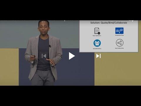 Global Insurance Accelerator 2018 final presentation - ProtectRisk