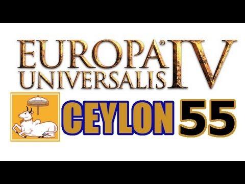 Europa Universalis 4 IV Ceylon Ironman Hard 55
