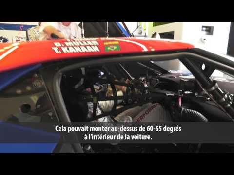 24 Heures du Mans 2017 - La temperature dans les habitables