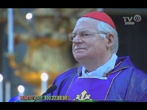 Verso il Conclave, il card. Angelo Scola alla basilica dei Santi XII Apostoli