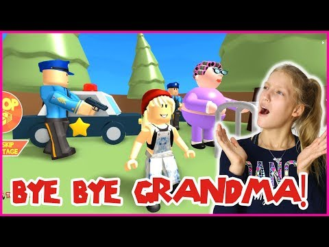 Gamer Girl Roblox Jail Sending Grandma To Jail Youtube