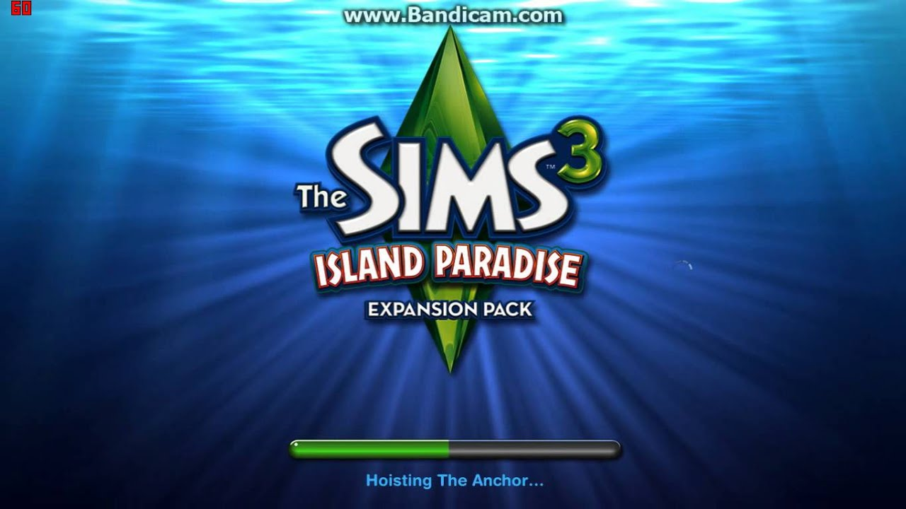 the sims 3 island paradise loading screen youtube