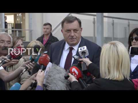 Bosnia and Herzegovina: Republika Srpska's Dodik casts vote on 'Statehood day' referendum