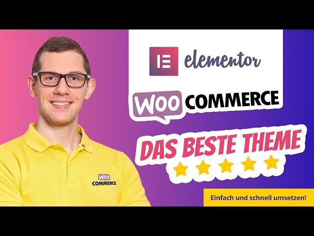 Das beste WooCommerce Elementor Theme 2020 🥇 Der Page Builder für den Online Shop