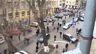 Харьковчане дали отпор спецназу на улице Чернышевского  Харьков 08 04 2014