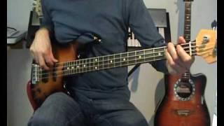 Elton John Crocodile Rock Bass Cover