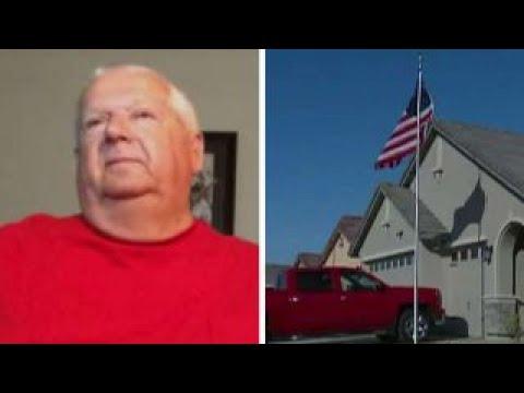 California city tells veteran to take down American flag