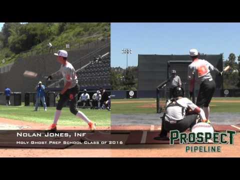 Nolan Jones, Holy Ghost Prep School, Home Run Derby at PG All American Classic