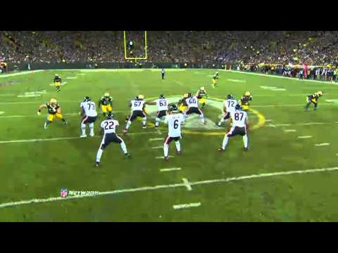 Clay Matthews Makes Jay Cutler his full-time bitch 09/13/2012