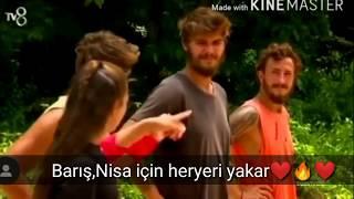   NisBar   Aşk Klip   Nisa korkuttun bizi   Nisa Bölükbaşı ve Barış Murat Yağcı Aşkı