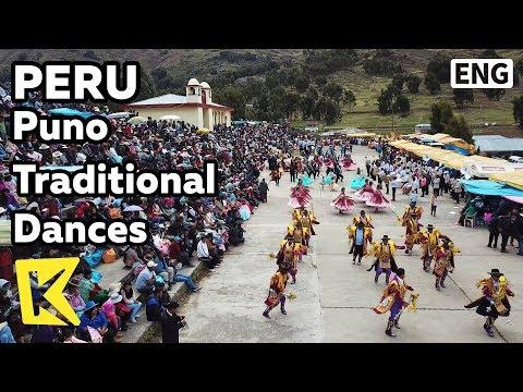 【K】Peru Travel-Puno[페루 여행-푸노]잉카인 전통 춤/Traditional dances/Morenada/DiabladaInca/New Year/Festival
