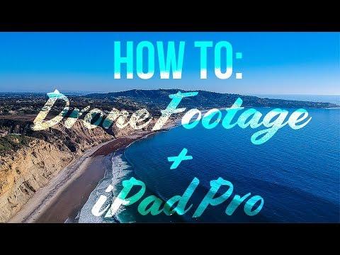 How To: Editing DJI Spark Drone Video on iPad Pro using LumaFusion