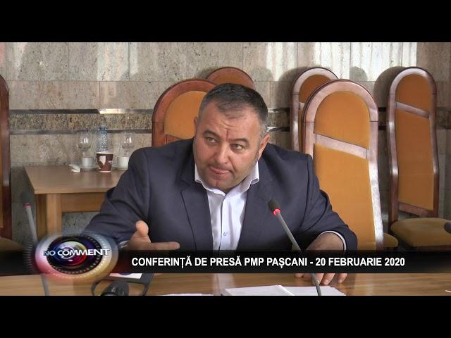 COMFERINTA DE PRESA PMP PASCANI  - 20 FEBRUARIE 2020