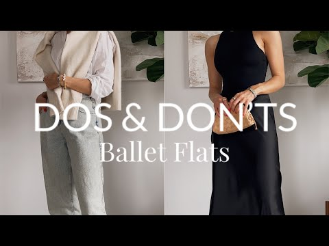 How to Wear Ballet Flats #youtubeshorts