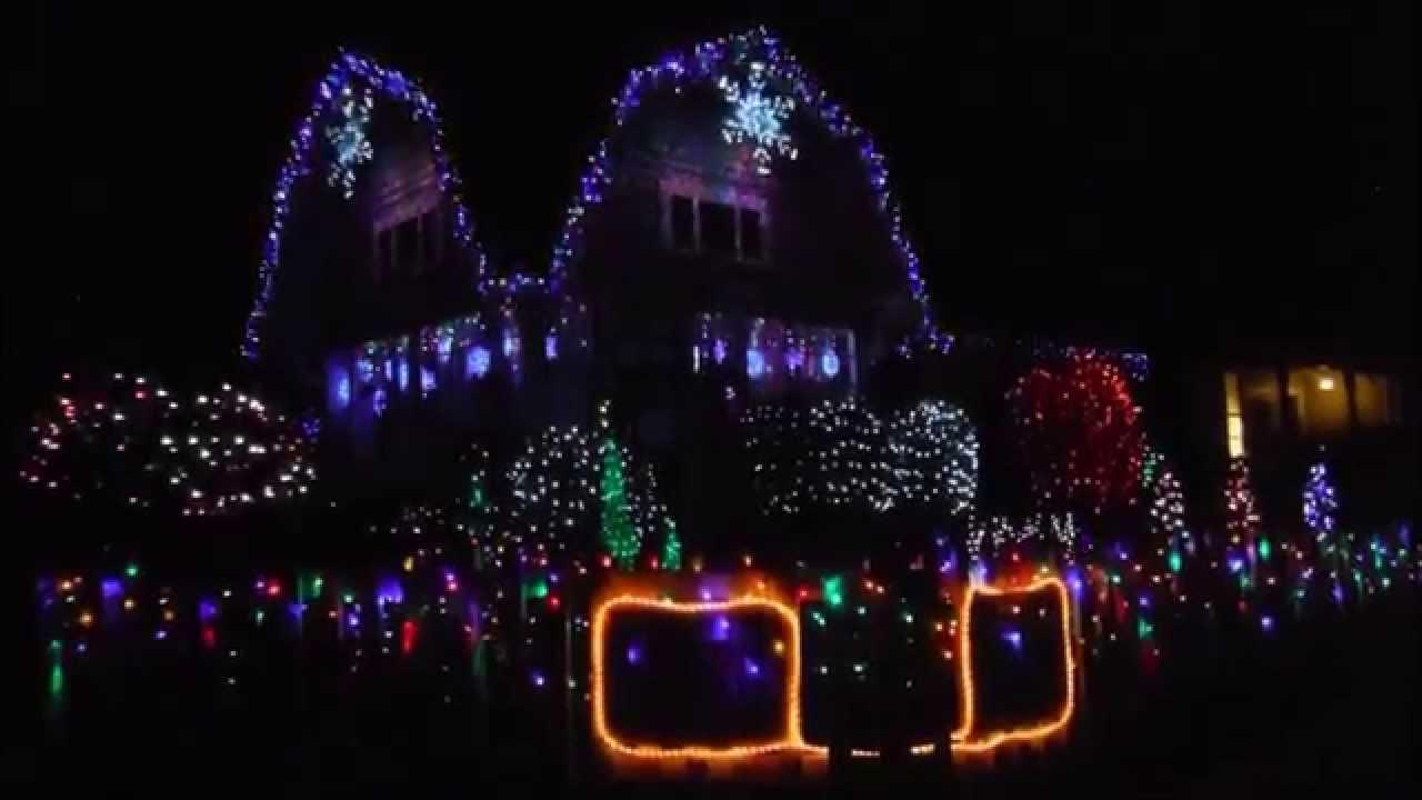 Christmas Lights To Music Fun House In San Luis Obispo YouTube - House With Christmas Lights To Music