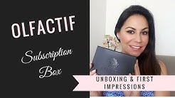 Olfactif Fragrance Subscription Box