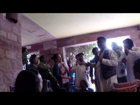 Rajasthan Gypsies sing Happy 48th Birthday to Jaco Abel in Jodhpur, India.