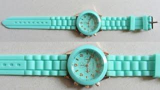Женские наручные часы Geneva Reloj 1500 | Посылка с Aliexpress(, 2014-08-10T10:28:45.000Z)