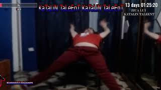 Katalin Taleent danseaza ca un posedat