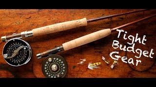 New Fly Fishing Gear On a TIGHT Budget CHEAP !!!