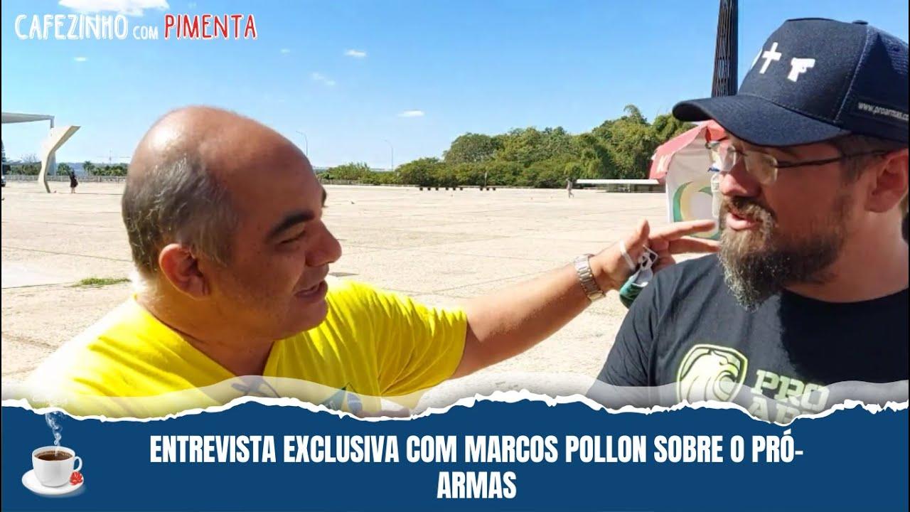 Entrevista exclusiva com Marcos Pollon sobre o Pró-Armas