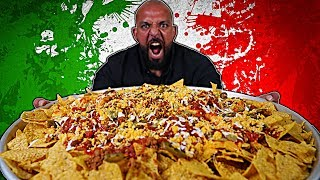 تحدي اكبر صحن ناتشوز - ١٠،٠٠٠ سعرة 🌮 Biggest Nacho Platter