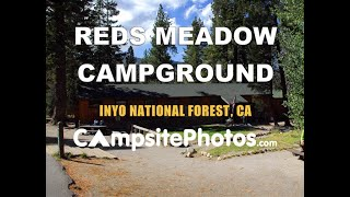 Reds Meadow Campground, Inyo National Forest, California
