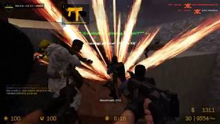 Only the Brave Survive, ZOMBIE ESCAPE COUNTER-STRIKE: SOURCE, MAP: ZE_30_seconds