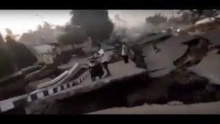 Terremoto de 7.0 sacudio en Papúa Nueva Guinea en donde se parte la tierra en vivo 10/10/2018 VIRAL