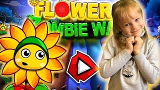 Растения против Зомби НОВОЕ КОЛЕЧКО Plants Vs Zombies 👽 Flower Zombie War 3