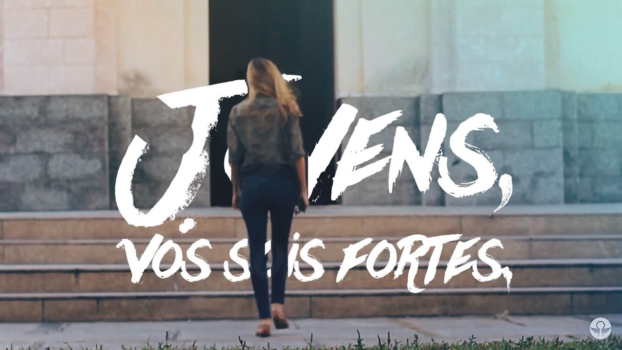 Jovens Vós Sois Fortes Motivacional Cristo Alegria