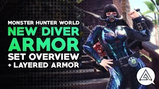 Monster Hunter World New Orion Armor Set Overview Layered Armor