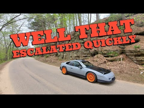 AUTOMOTION 2K19! THE GARAGELESS EXPERIENCE! FIERO HITS DEER! CONQUEST GETS TICKET!