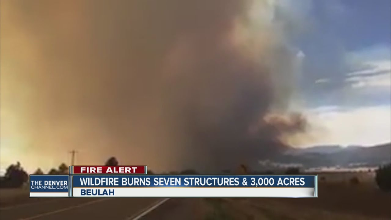 Pueblo Co  fire grows to 3,000 acres